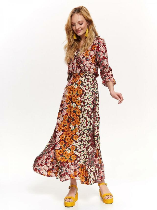 9de23ff39bb9 Top Secret Šaty dámské květované dlouhé - 34
