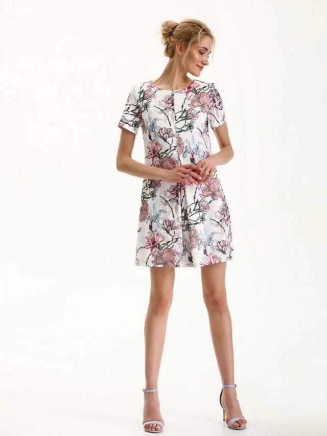 2a61220f61 Top Secret šaty dámské květinové s krátkým rukávem - 34