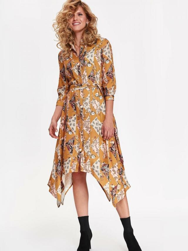 Top Secret Šaty dámské dlouhé MAXI s nepravidelným lemem - 40
