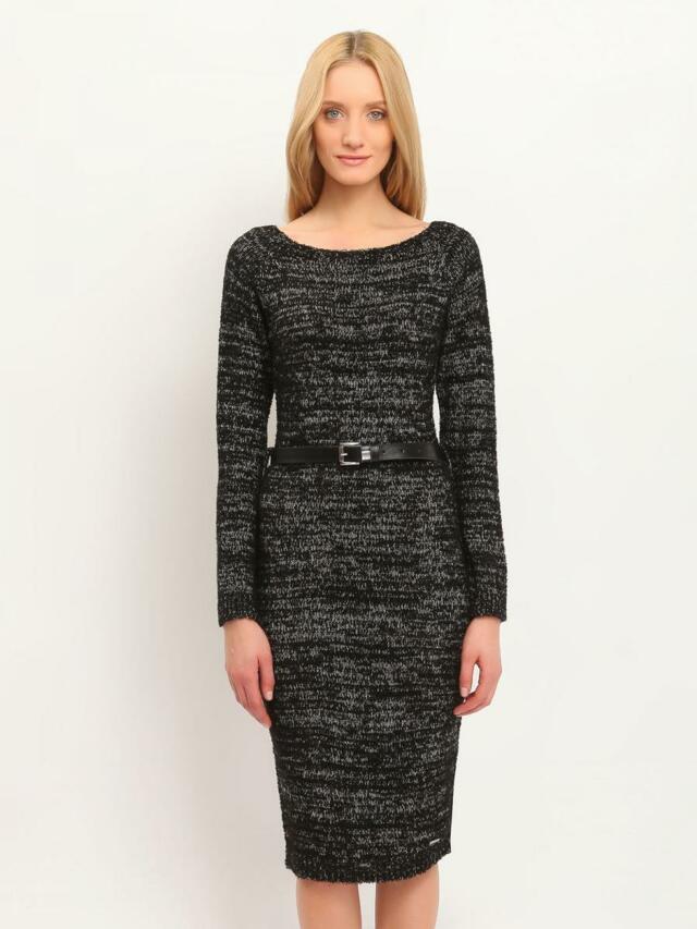 Top Secret šaty dámské pletené dlouhý rukáv