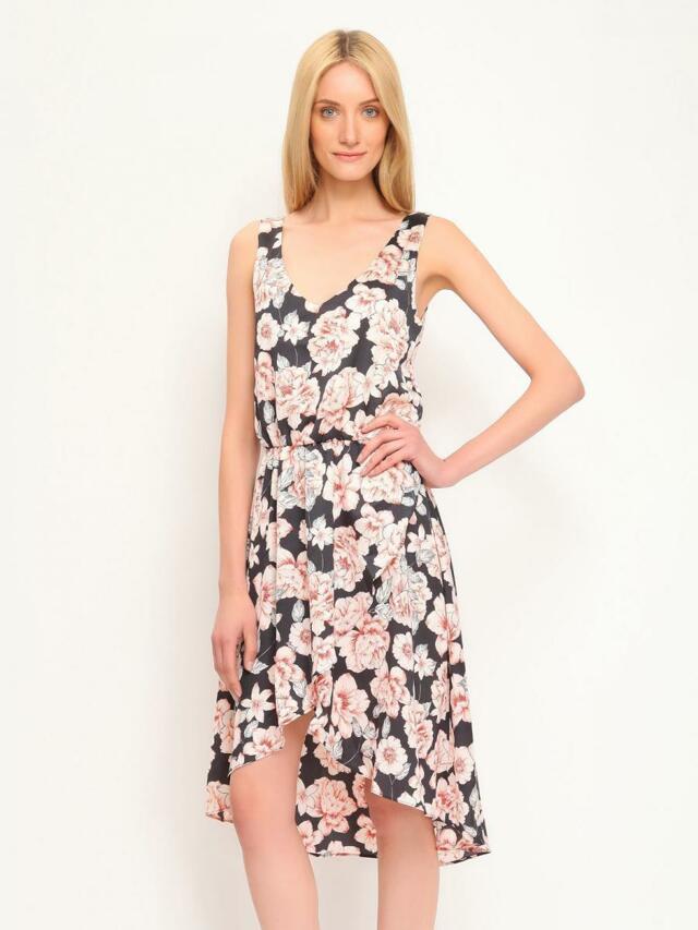 Top Secret šaty dámské květované