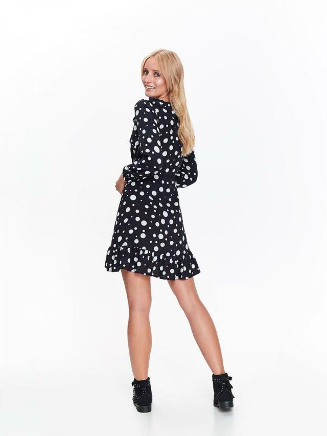 Top Secret Šaty dámské tmavě modré s puntíky(816513) - 5 f2c0c03193