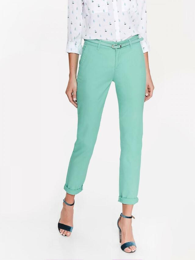 Top Secret Kalhoty dámské CHINOSY s páskem