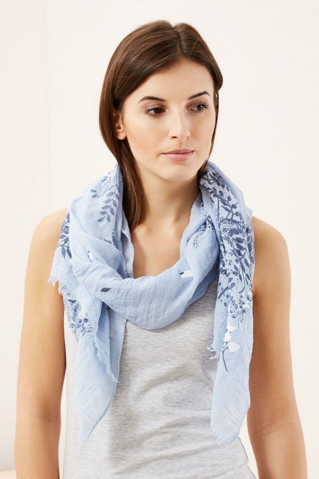 Moodo šátek dámský s květinami