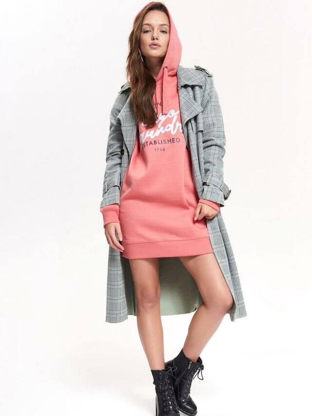 67d757bb1e86 Top Secret Mikina dámská TOKYO růžová s dlouhým rukávem