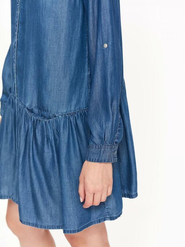 8c38a017c88e ... Top Secret šaty dámské jeans s dlouhým rukávem (804597) - 7 ...