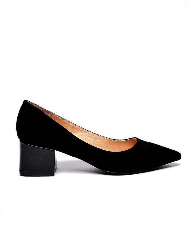 Top Secret Lodičky dámské černé na nízkém podpatku - 36