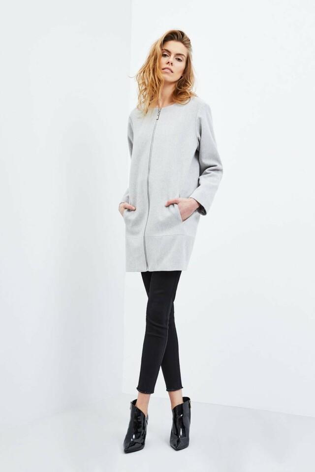 Moodo Kabát dámský na zip