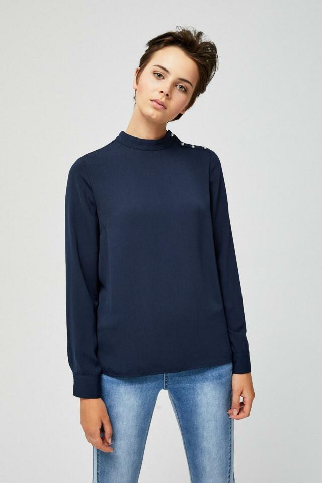 Moodo Košile dámská s dlouhým rukávem - M