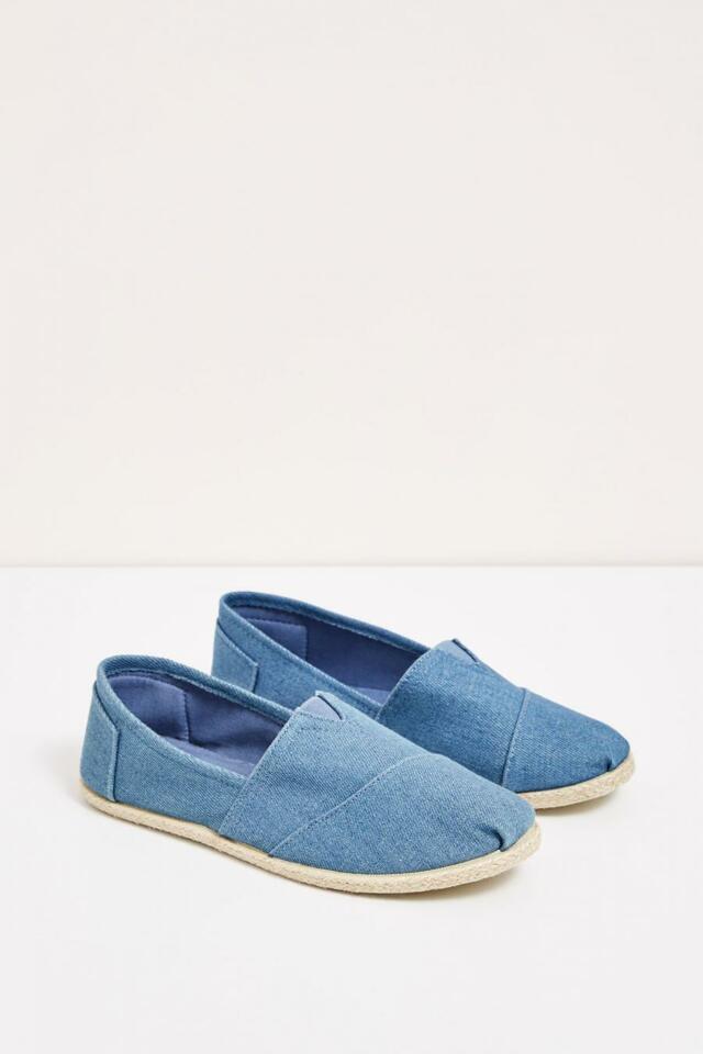 Moodo Espadrilky dámské jeans bavlněné - 36