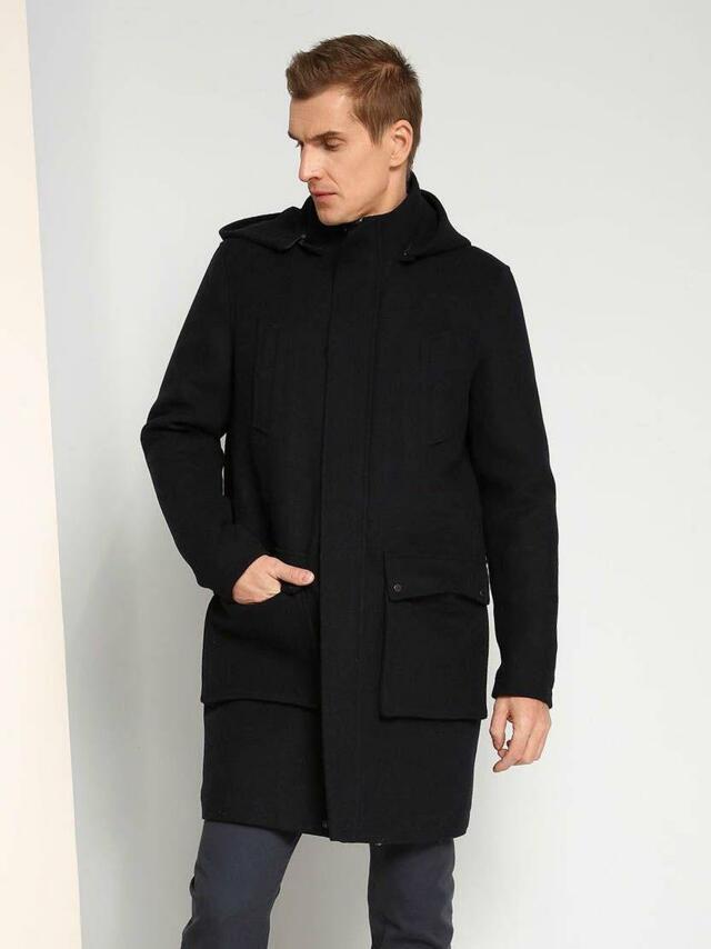 Top Secret Kabát pánský s kapucí
