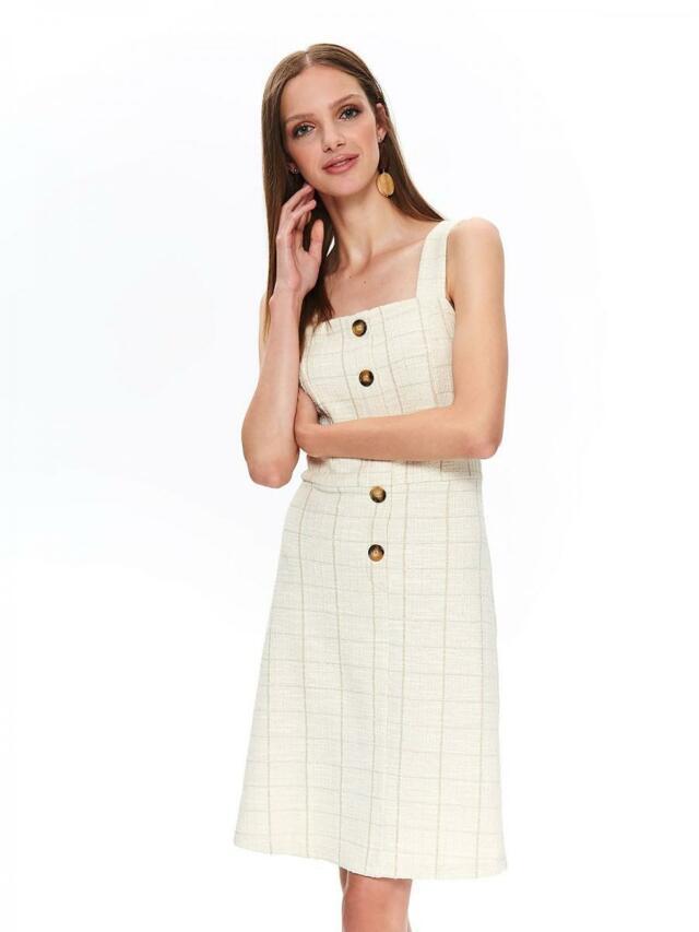 Top Secret Šaty dámské REWY II bez rukávu s knoflíky - 40