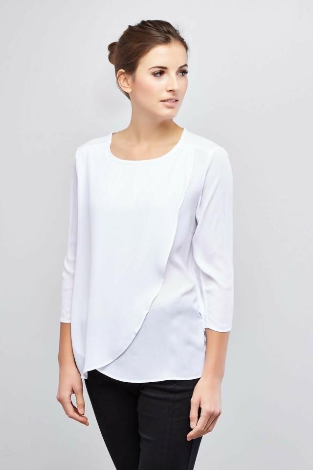 Moodo Košile dámská dlouhý rukáv