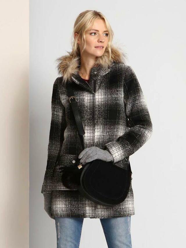 Top Secret Kabát dámský s kapucí