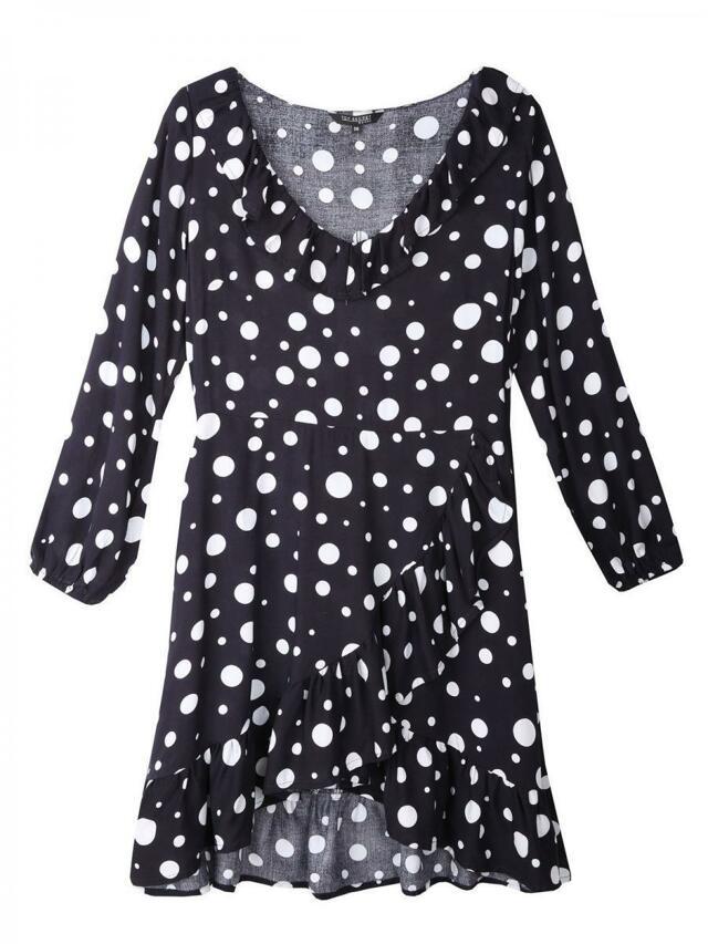 Top Secret Šaty dámské tmavě modré s puntíky(816513) - 2 18daa3c326