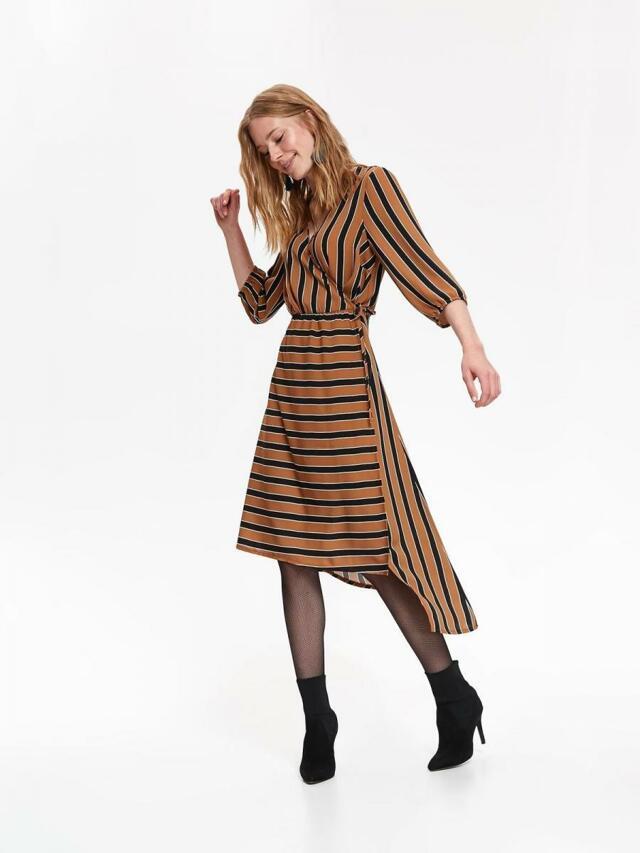 Top Secret Šaty dámské pruhované MIDI - 40