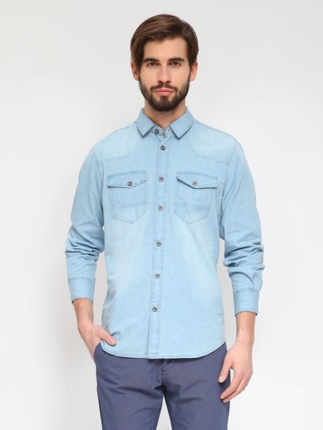 Top Secret Košile pánská jeans