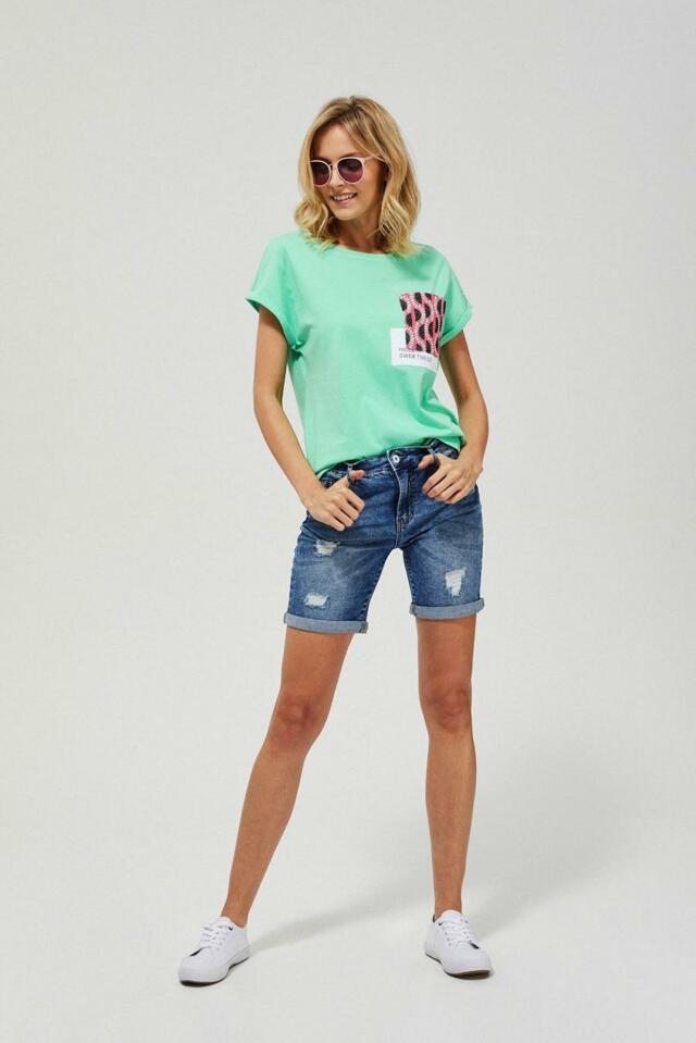 Moodo Kraťasy dámské FRED III jeans - XS