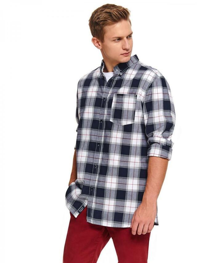 Top Secret Košile pánská FRED II s dlouhým rukávem - 40/41