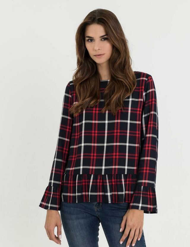 Diverse Košile dámská MARJORIE bez zapínání - S