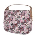 Kabelka K-Fashion British Jack HOBO - růžová (241444) - 1