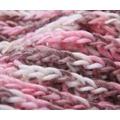 Pletený šál Snood - růžový (424035) - 3