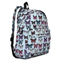 Batoh Lulu Butterfly - sv. modrý (477281) - 3