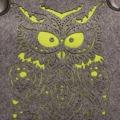 Filcová kabelka Felt Owl - vínová (199459) - 3