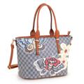 Kabelka Borse Butterfly Shopper - modrá (91761) - 1