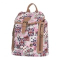 Batoh K-Fashion British - růžový (912182) - 1