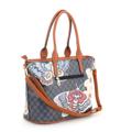 Kabelka Borse Butterfly Shopper - modrá (91761) - 2