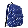 Batoh Lulu Dot - modrá (306453) - 1