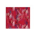 Luxusní šátek Abstract Red (65526) - 3