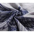 Luxusní šátek Wild Bird grey (65528) - 3
