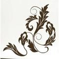 Samolepka na zeď Ornamenty z rostlin 023 (146427) - 1