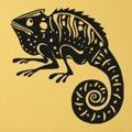 Samolepka na zeď Chameleon 001 (146175) - 1