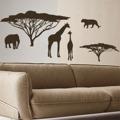 Samolepka na zeď Africké zátiší 002 (146048) - 1
