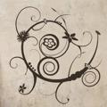 Samolepka na zeď Ornamenty z rostlin 027 (146430) - 1