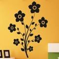 Samolepka na zeď Květina 0212 (572546) - 1