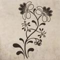 Samolepka na zeď Květiny 025 (146265) - 1