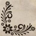 Samolepka na zeď Ornament s květinami 0178 (572512) - 1