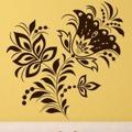 Samolepka na zeď Květiny 040 (146279) - 1