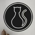 Samolepka na zeď Kočka 0431 (576040) - 1