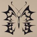 Samolepka na zeď Motýl 009 (146381) - 1