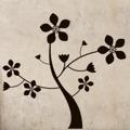 Samolepka na zeď Květina 0211 (572545) - 1
