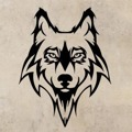 Samolepka na zeď Vlk 1405 (911560) - 1