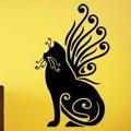 Samolepka na zeď Kočka 0471 (576260) - 1