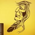 Samolepka na zeď Indián 001 (146180) - 1