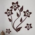 Samolepka na zeď Květiny 019 (146260) - 1