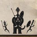 Samolepka na zeď Afričani 006 (146054) - 1